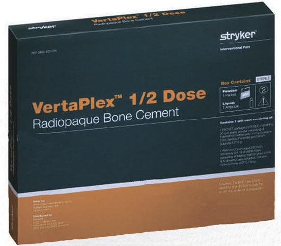 Вертебропластика - костный цемент