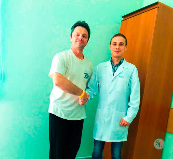 Пациент хирургическое лечение экстрафораминальной L4-L5 грыжи м/п диска