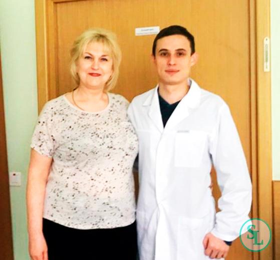 Пациентка после лечения дегенеративного стеноза позвоночного канала