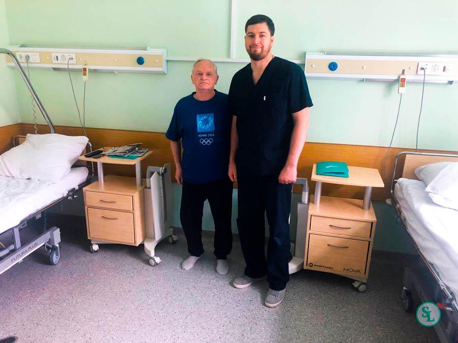 Пациент 81 год лечение боли в спине