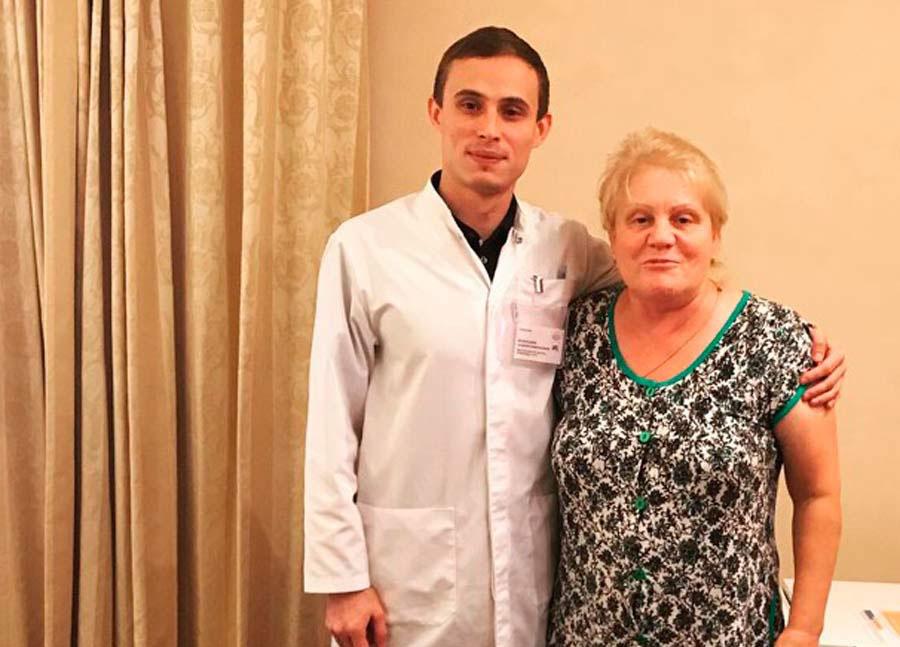 Пациент - Хирургическое лечение патологического перелома L4 позвонка