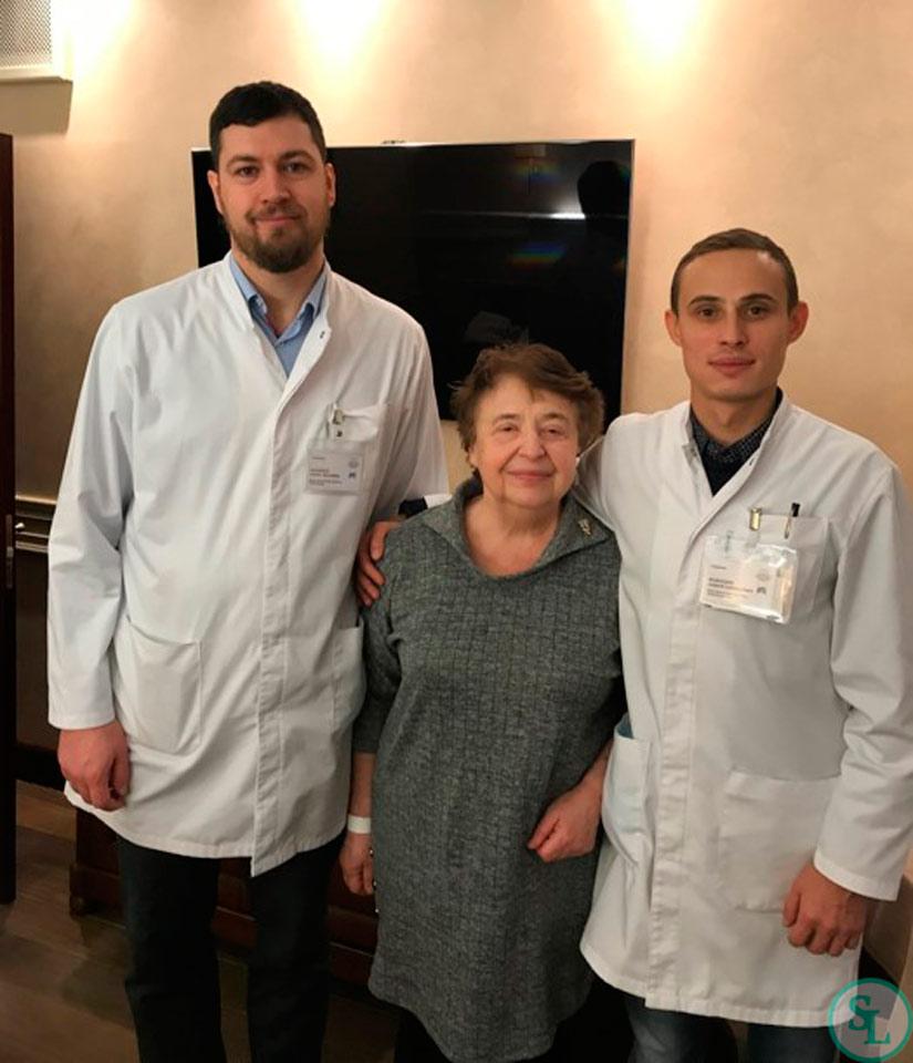 После операции рентген